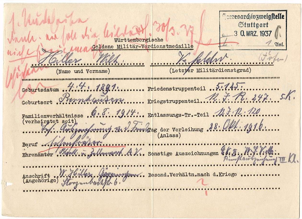 Hiller, Wilhelm, Bild 3