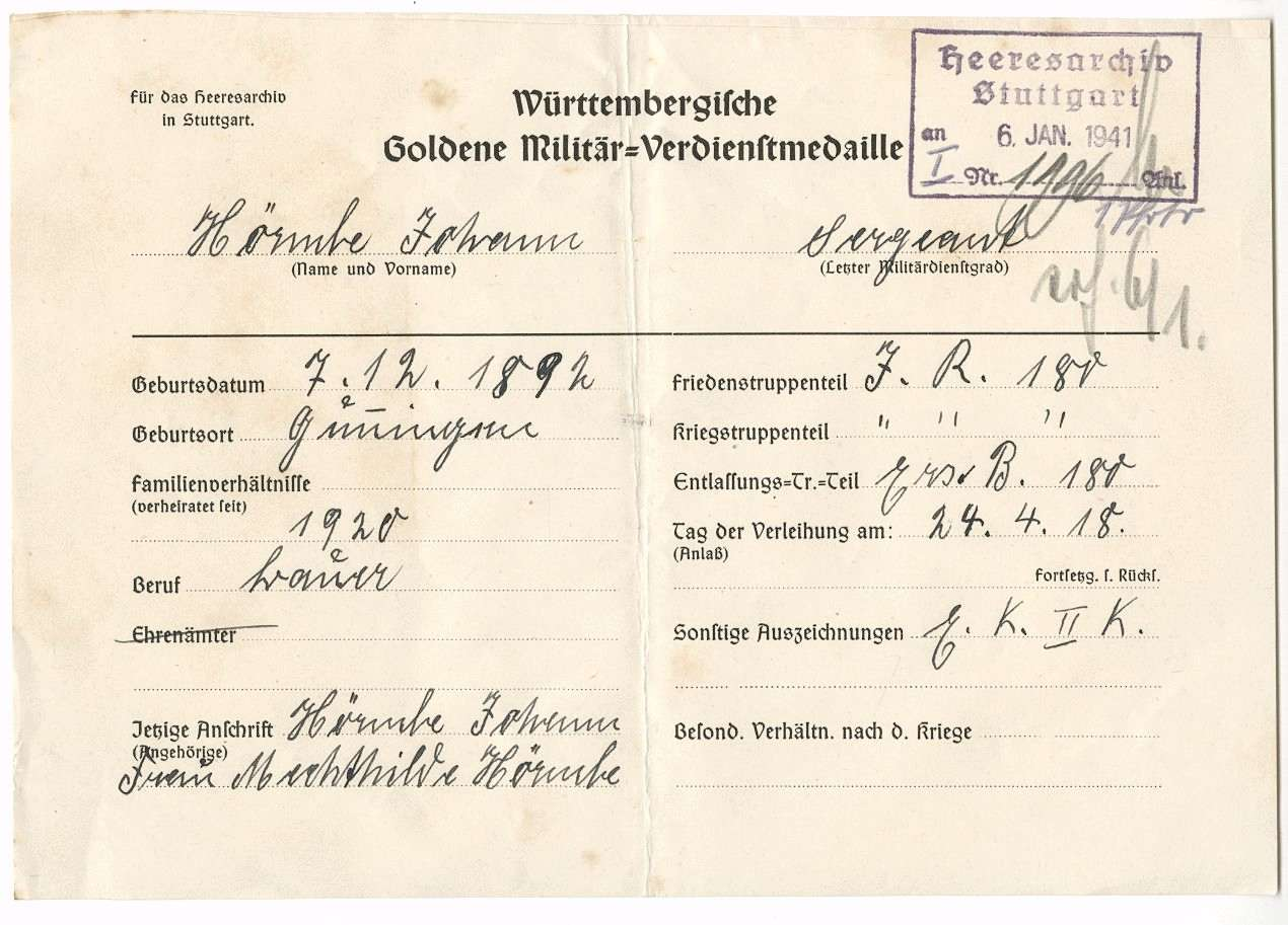 Hörmbe, Johann, Bild 2