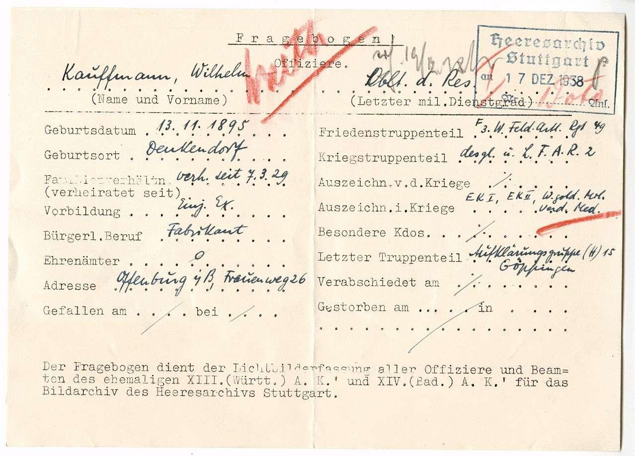 Kauffmann, Wilhelm, Bild 2
