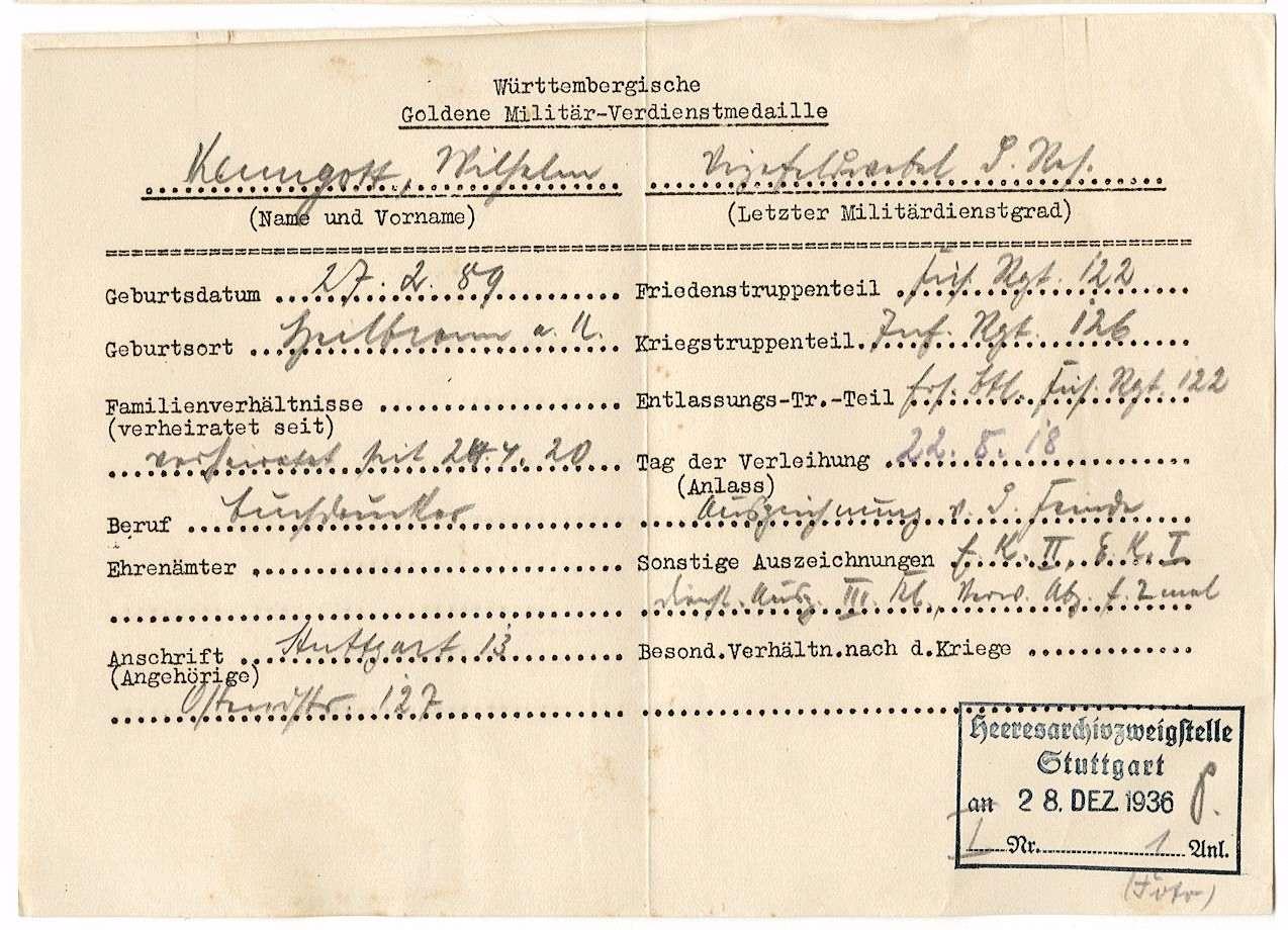 Kenngott, Wilhelm, Bild 2
