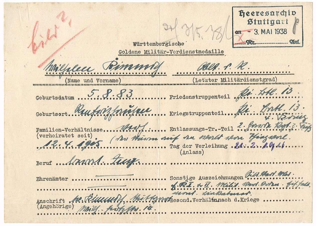 Kimmich, Wilhelm, Bild 2