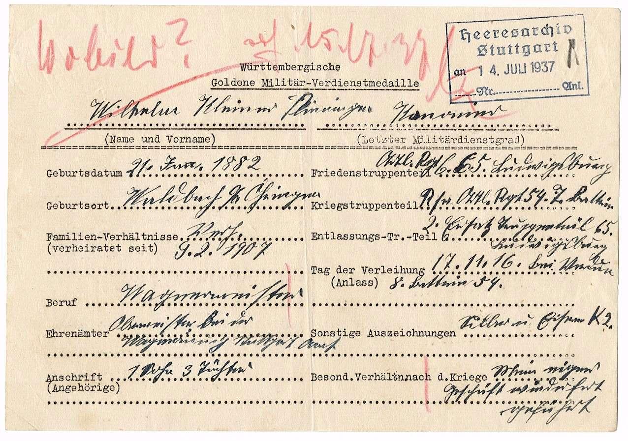 Kleiner, Wilhelm, Bild 2