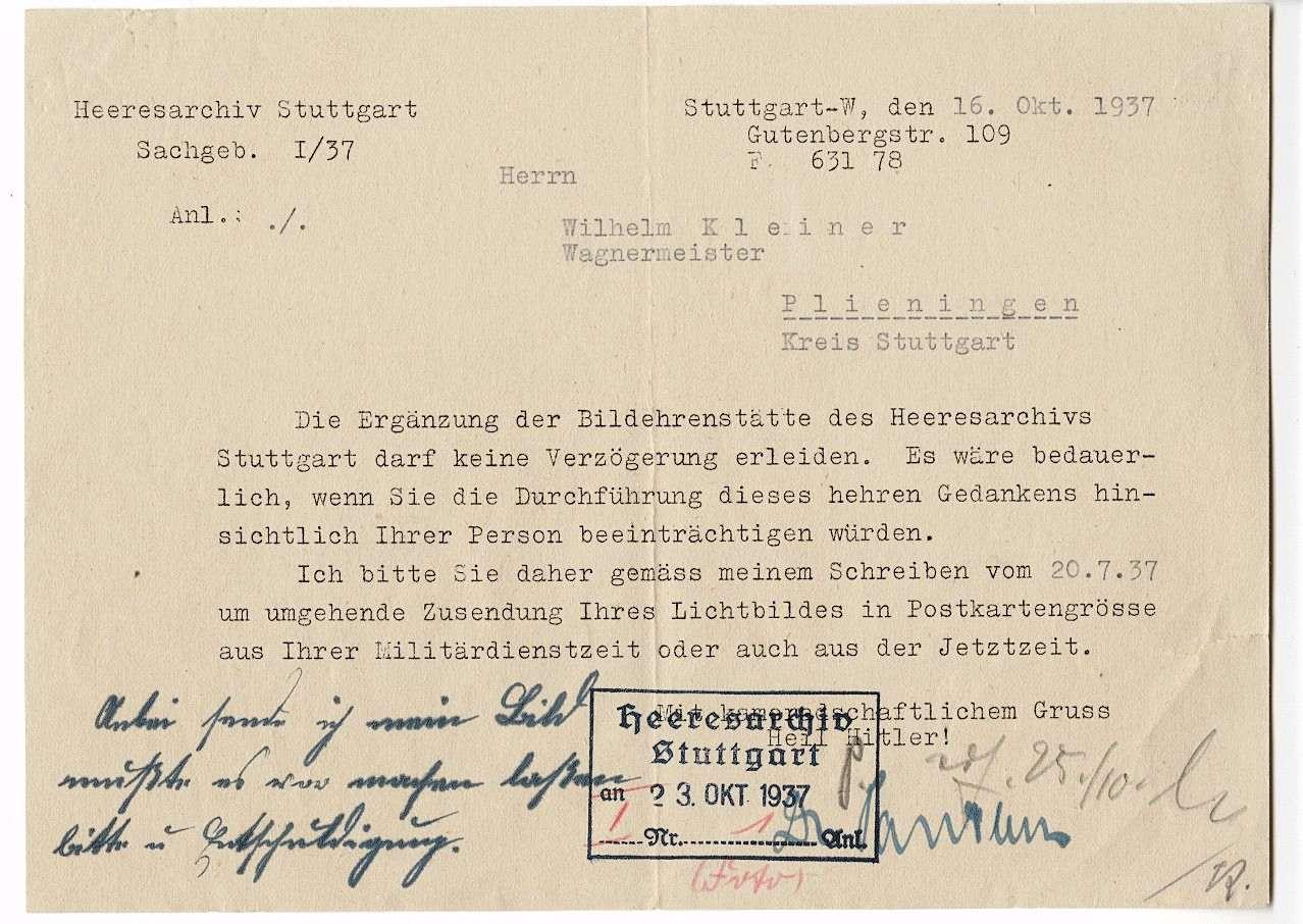 Kleiner, Wilhelm, Bild 3