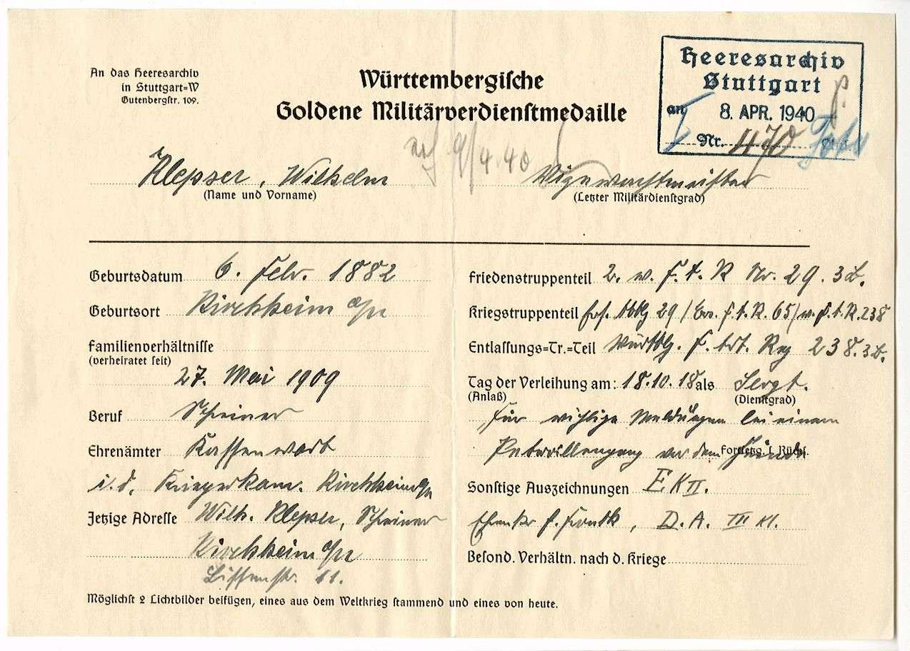 Klepser, Wilhelm, Bild 2