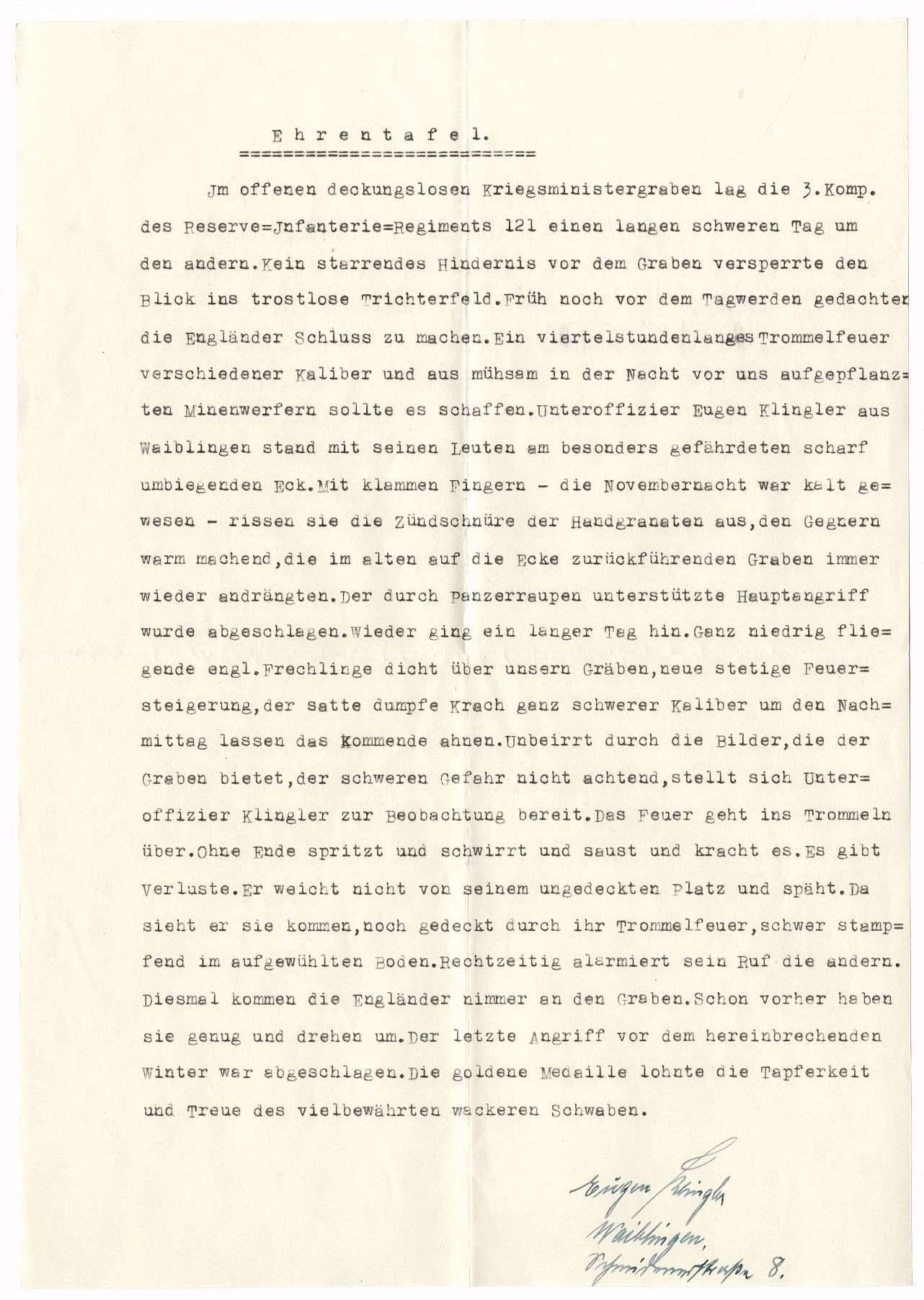 Klingler, Eugen, Bild 2