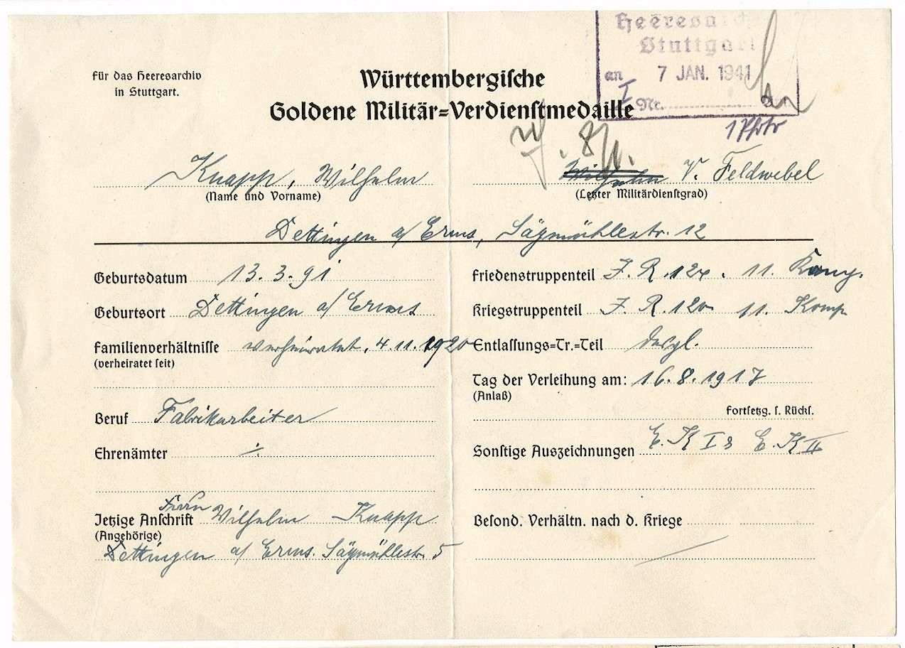Knapp, Wilhelm, Bild 2
