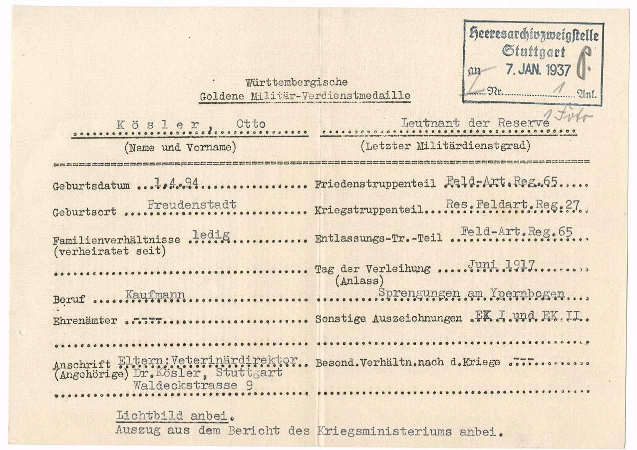 Kösler, Otto, Bild 2