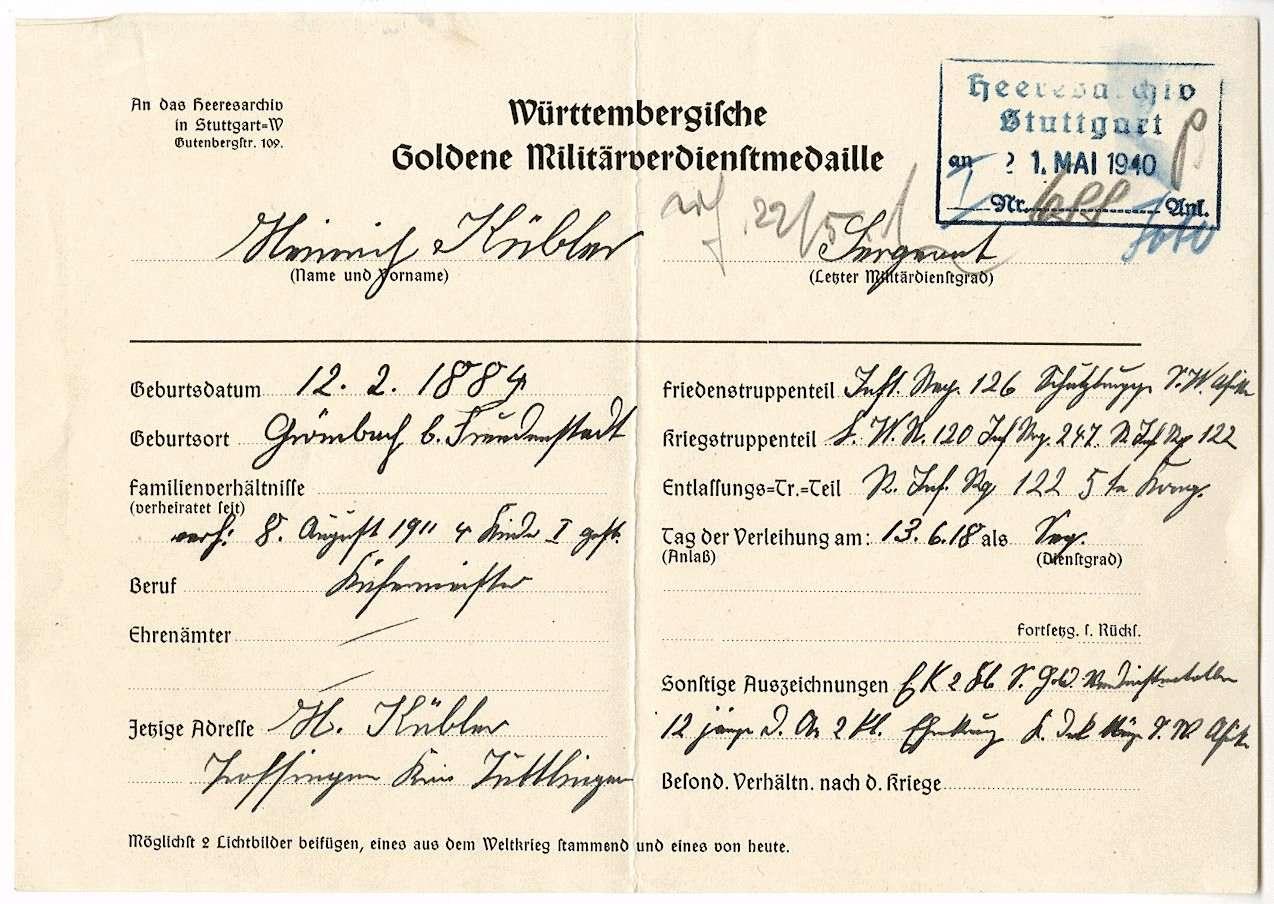 Kübler, Heinrich, Bild 3