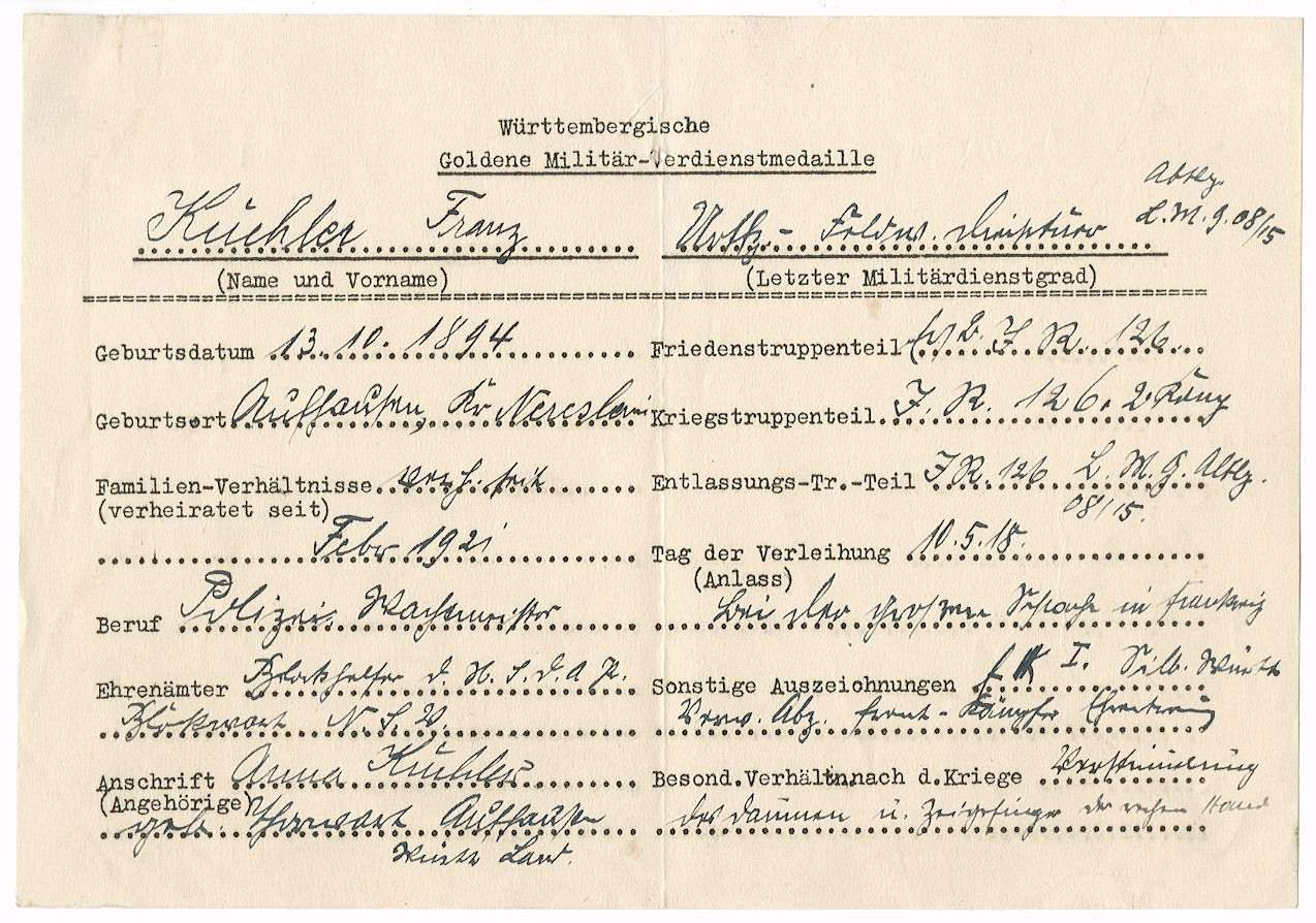 Küchler, Franz, Bild 2