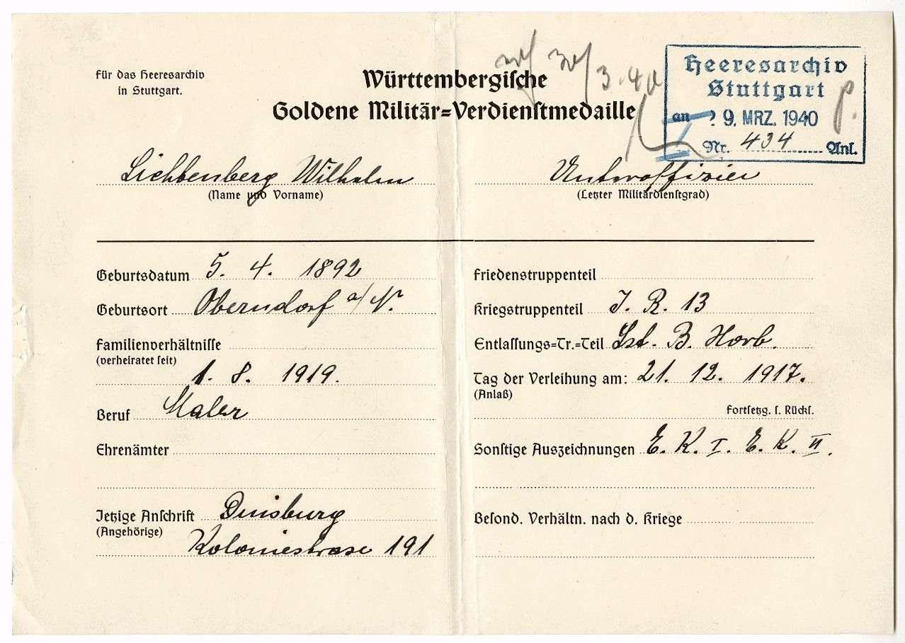 Lichtenberg, Wilhelm, Bild 3