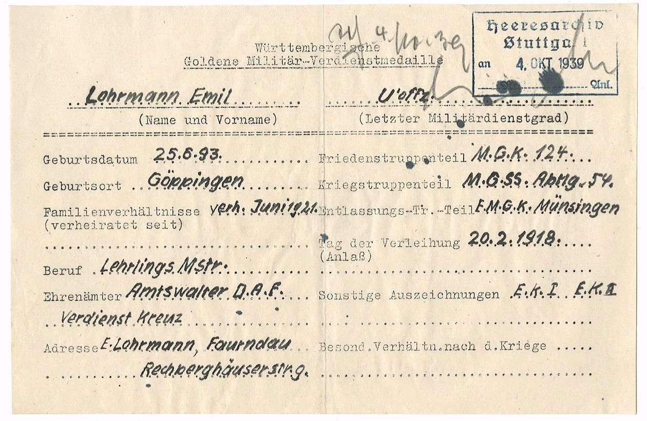 Lohrmann, Emil, Bild 2