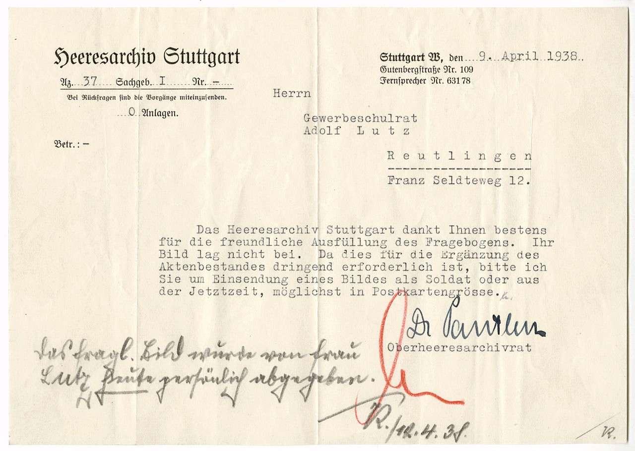 Lutz, Adolf, Bild 3