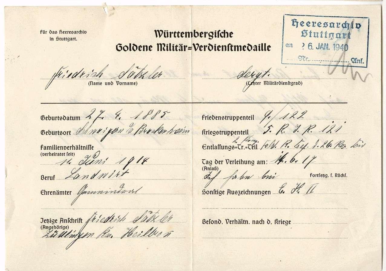 Sätzler, Friedrich, Bild 2