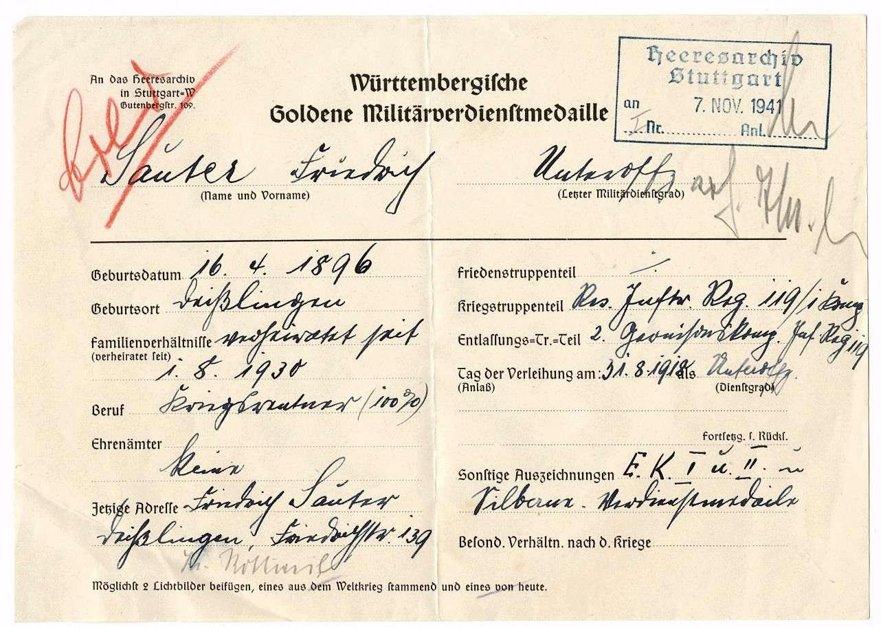 Sauter, Friedrich, Bild 1