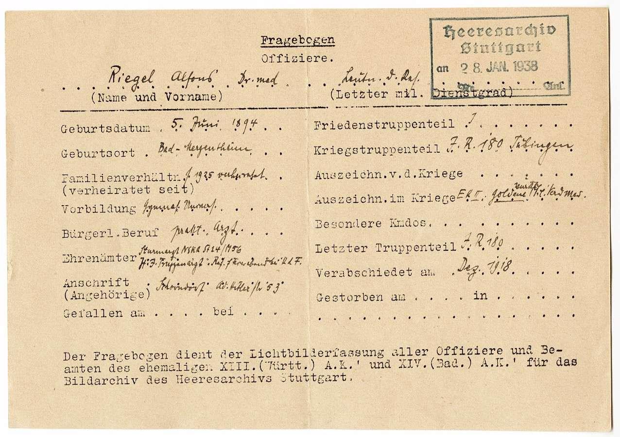 Riegel, Alfons, Dr. med., Bild 3