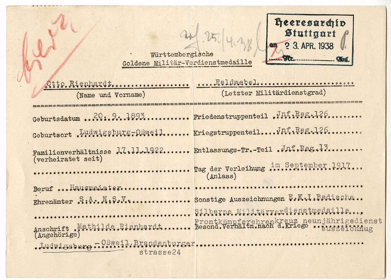 Rienhardt, Otto, Bild 2