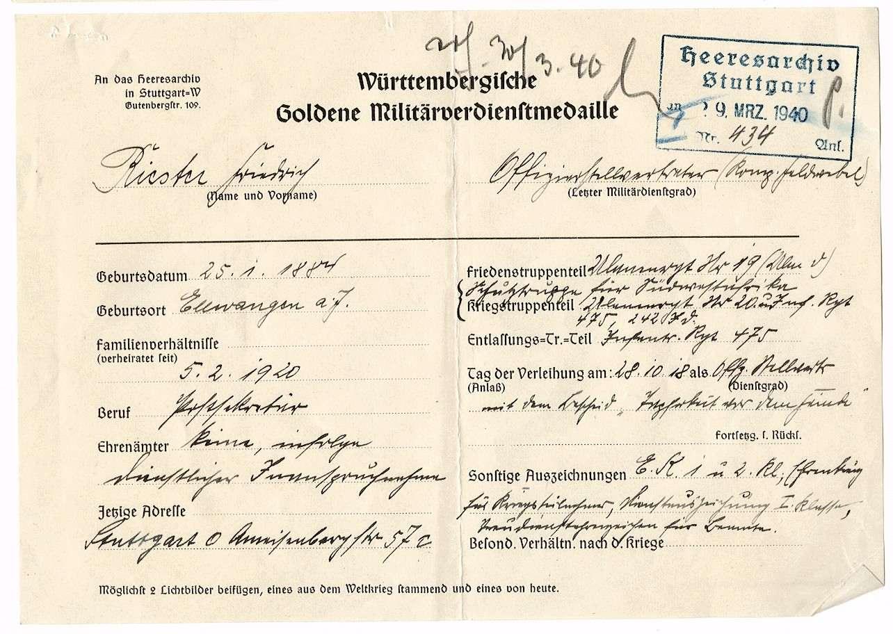 Riester, Friedrich, Bild 2