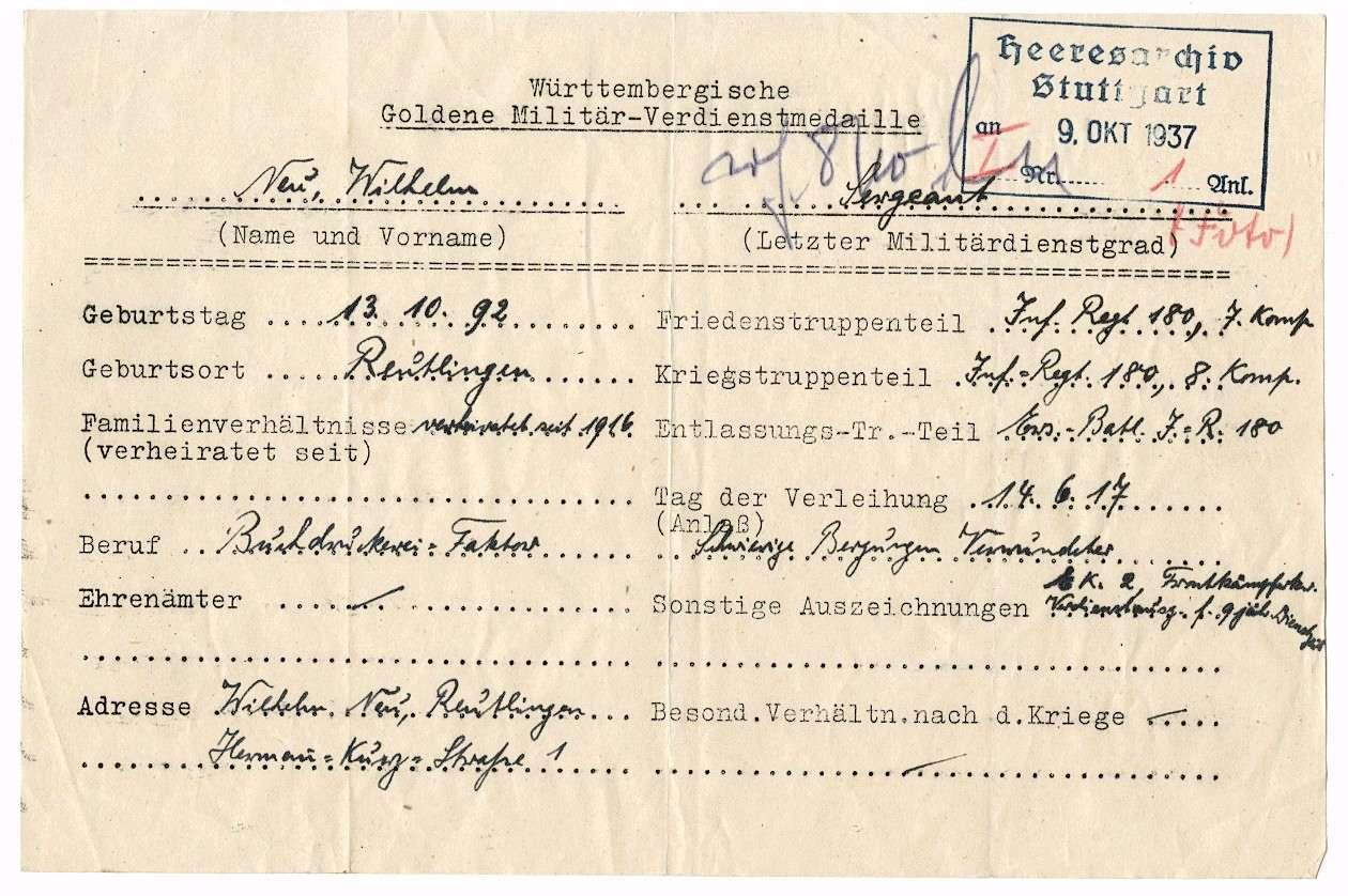 Neu, Wilhelm, Bild 2