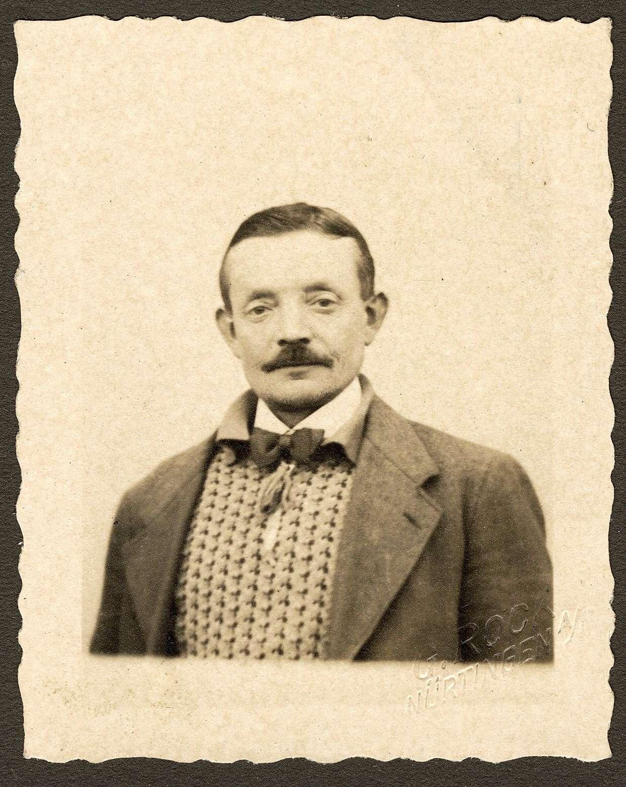 Pfäffle, Wilhelm, Bild 1
