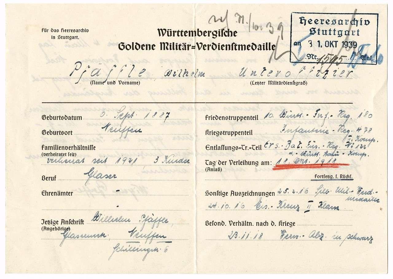 Pfäffle, Wilhelm, Bild 3