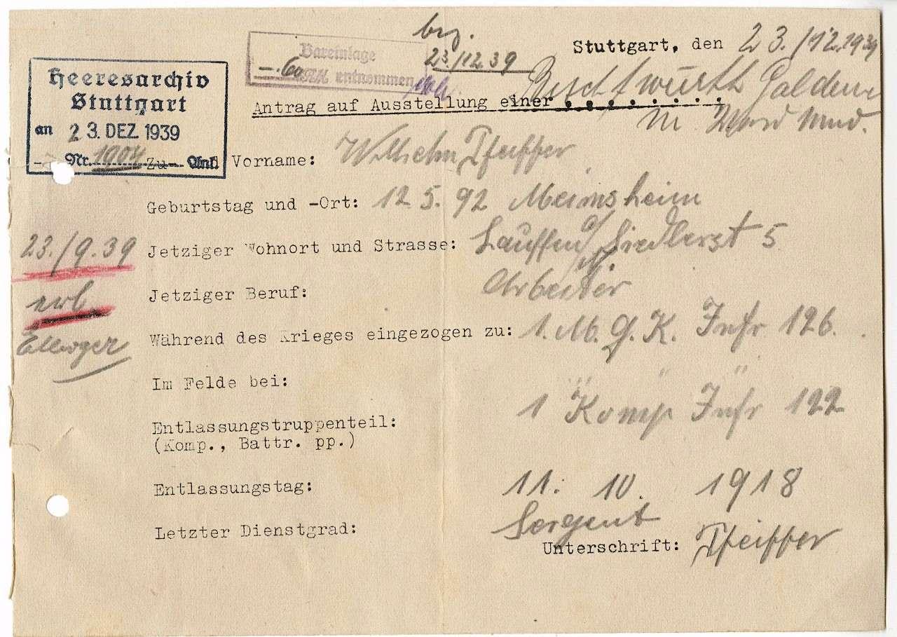 Pfeiffer, Wilhelm, Bild 2
