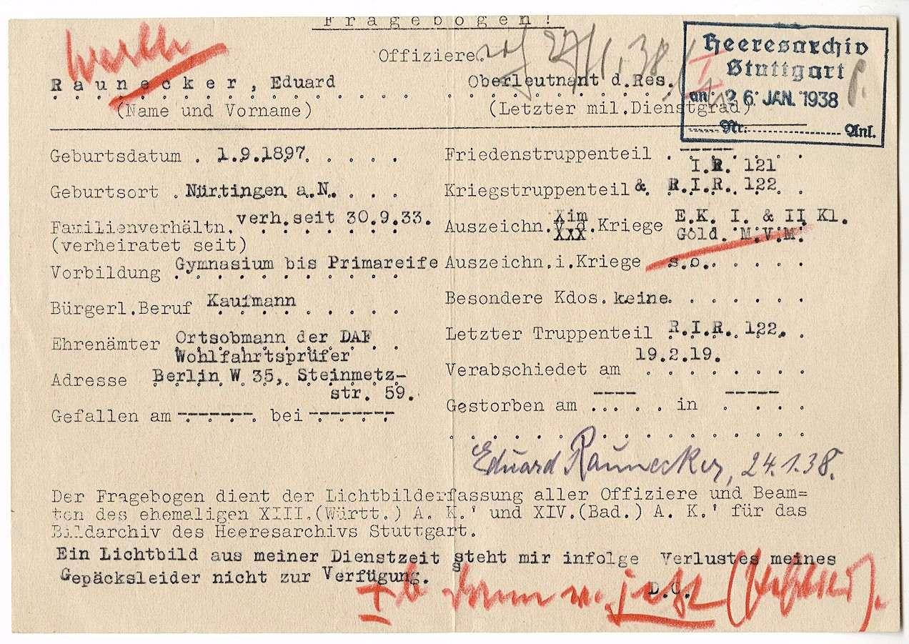 Raunecker, Eduard, Bild 2
