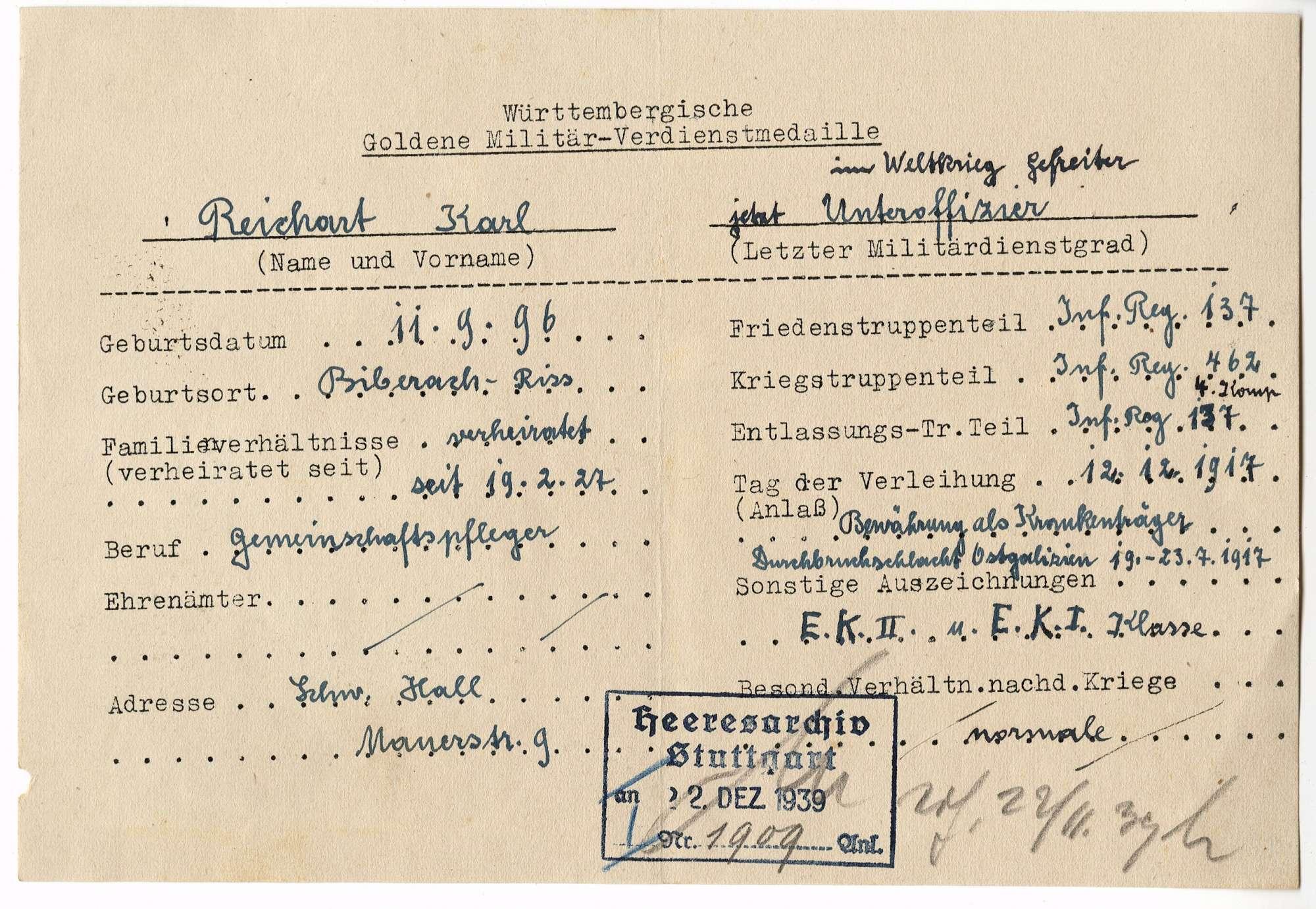 Reichart, Karl, Bild 3