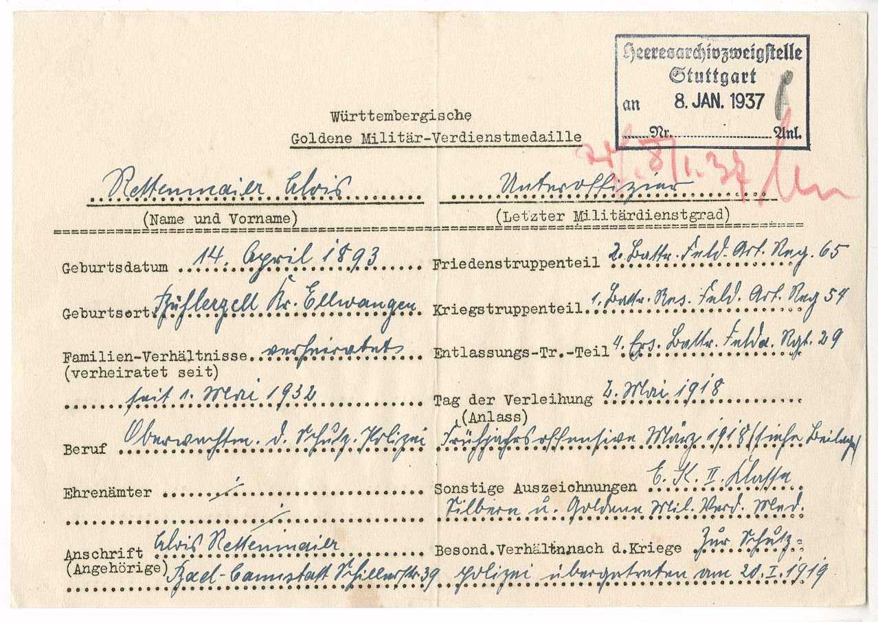 Rettenmaier, Alois, Bild 2