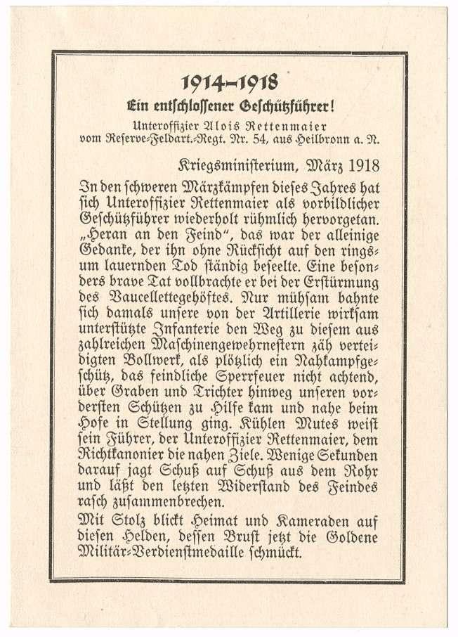 Rettenmaier, Alois, Bild 3