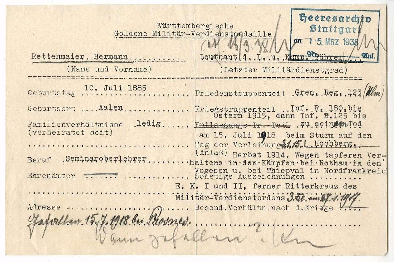 Rettenmaier, Hermann, Bild 2