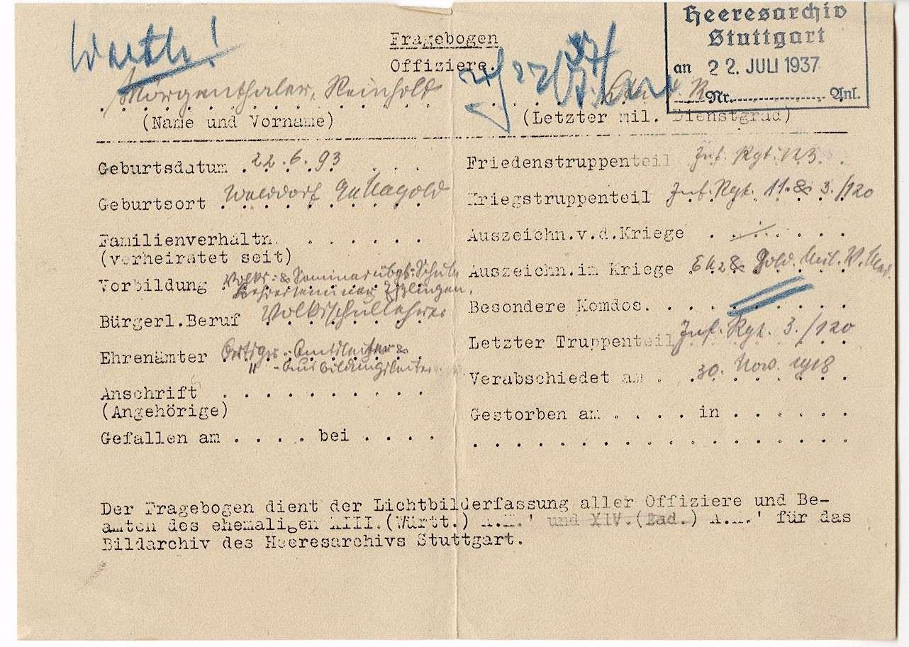 Mörgenthaler, Reinhold, Bild 2