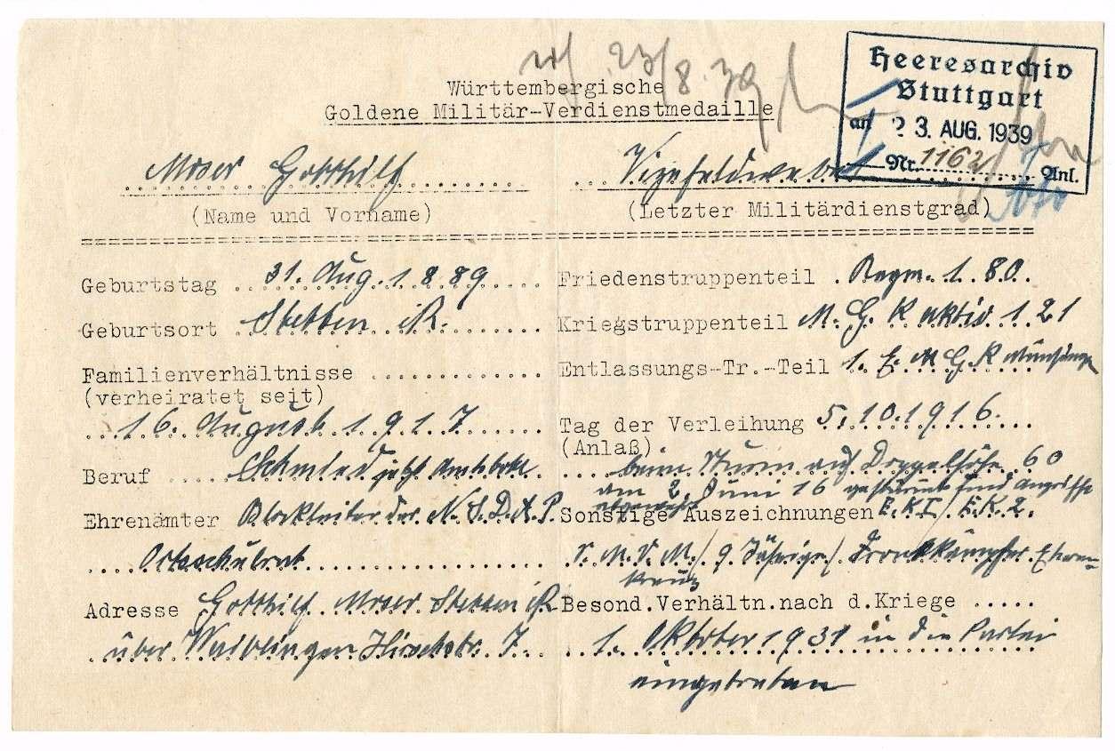 Moser, Gotthilf, Bild 2