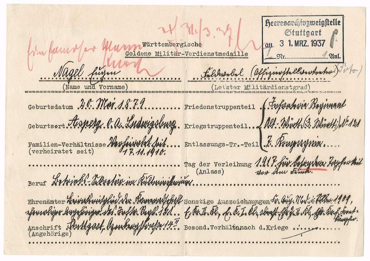 Nagel, Eugen, Bild 2