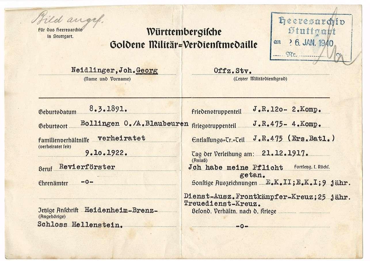 Neidlinger, Georg Johann, Bild 2