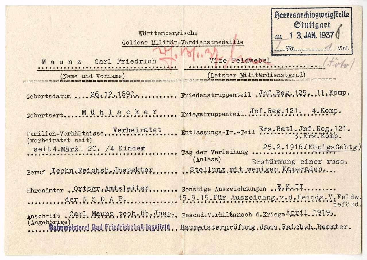 Maunz, Carl Friedrich, Bild 2