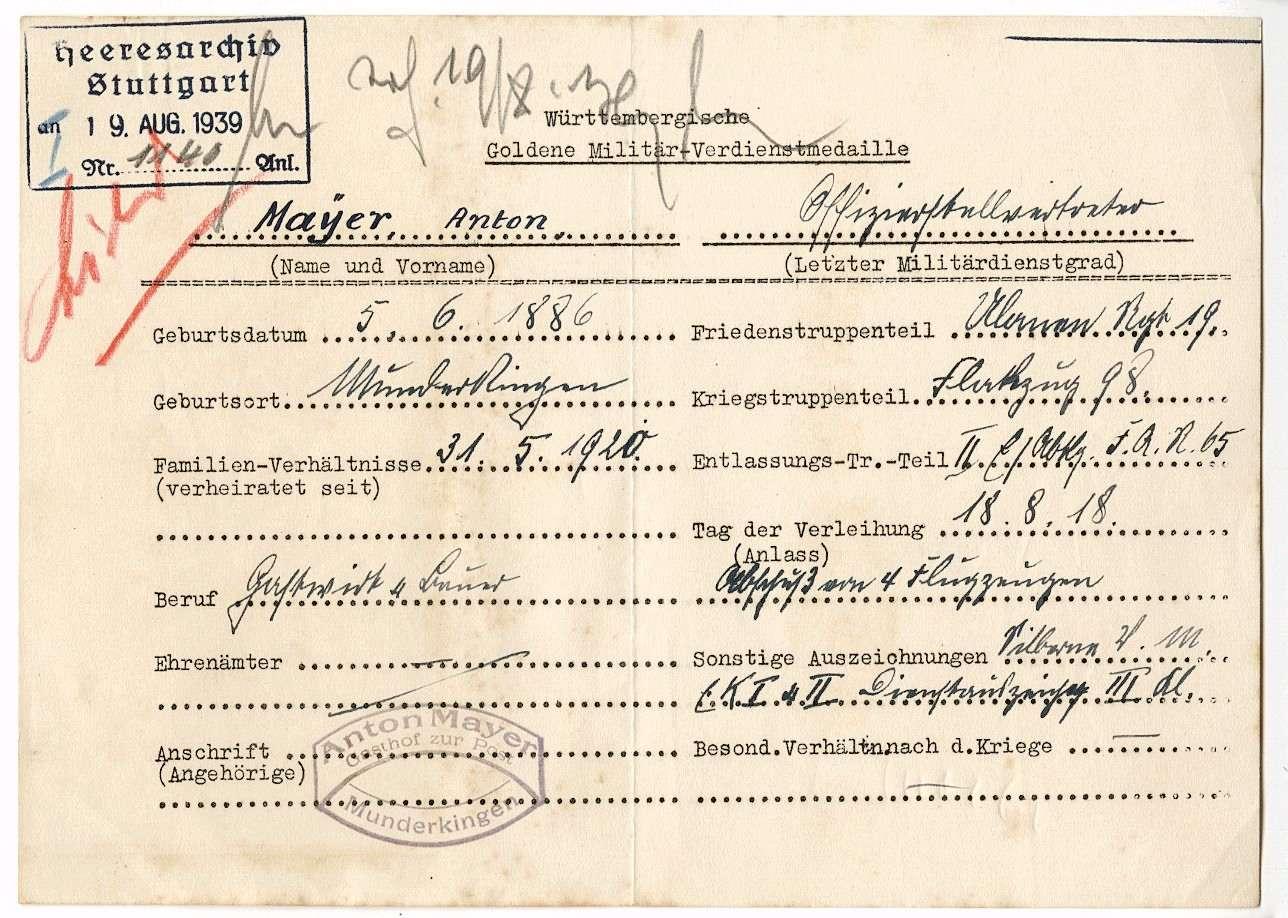 Mayer, Anton, Bild 2