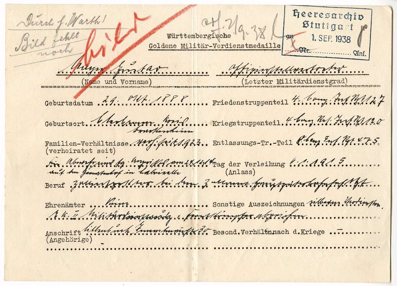 Mayer, Gustav, Bild 2