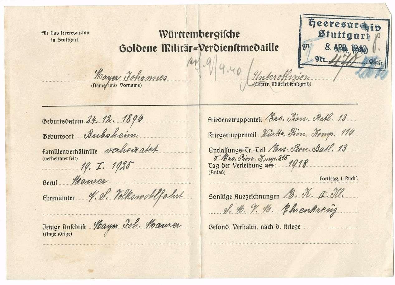 Mayer, Johannes, Bild 3