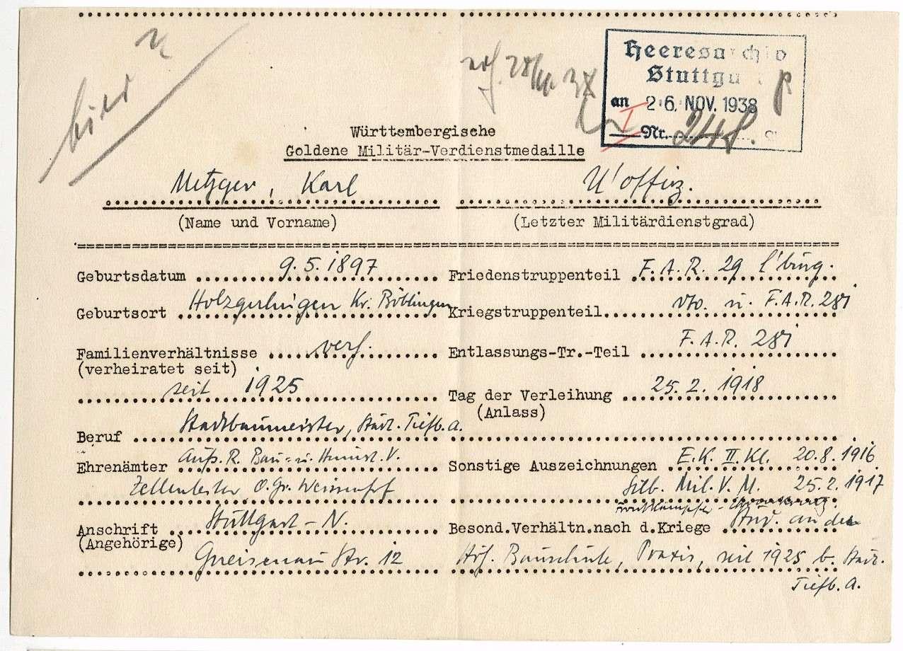 Metzger, Karl, Bild 2