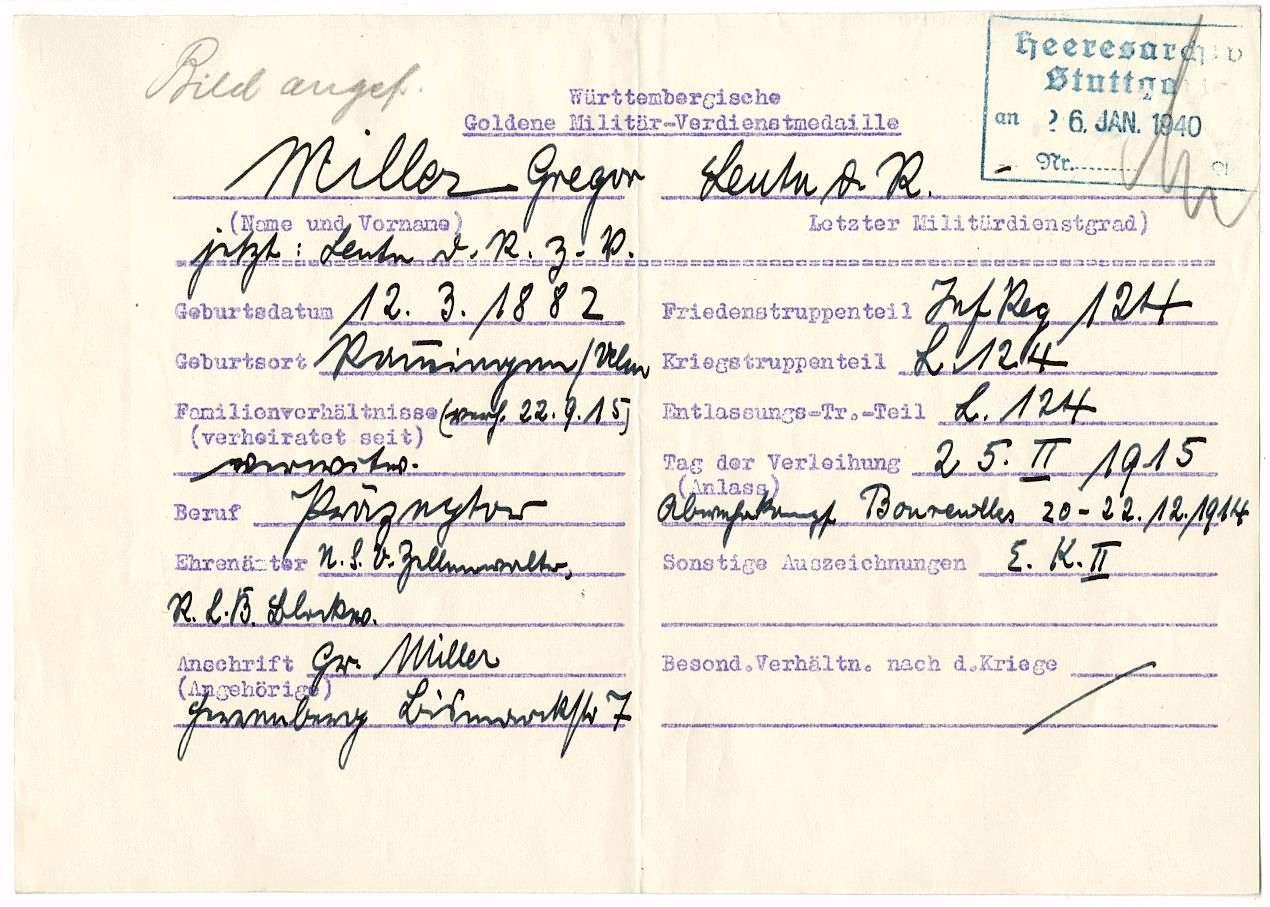 Miller, Gregor, Bild 3
