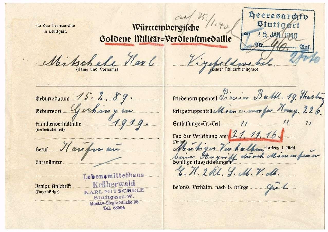 Mitschele, Karl, Bild 3