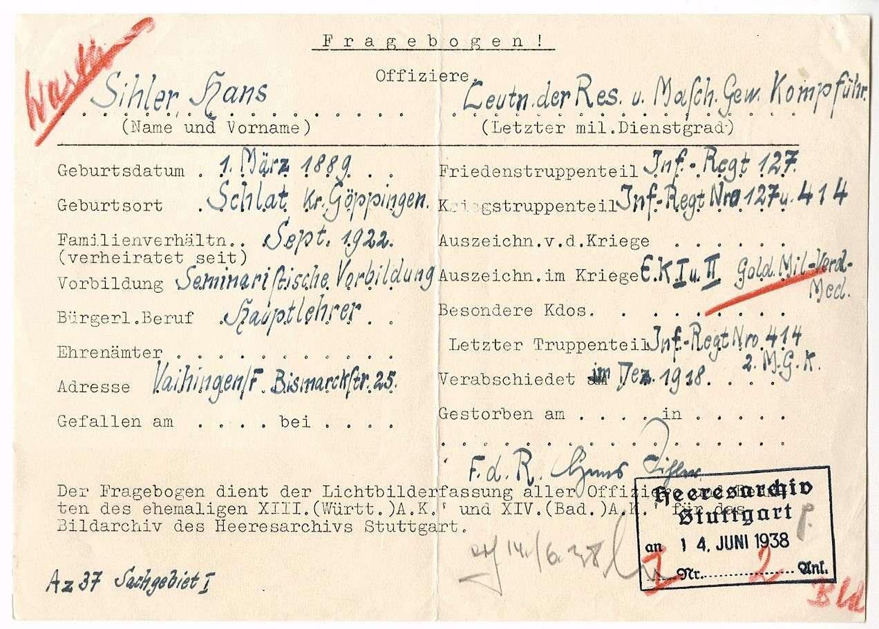 Sihler, Hans, Bild 3