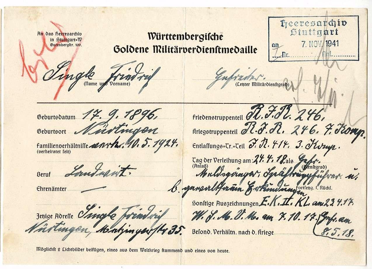 Single, Friedrich, Bild 2