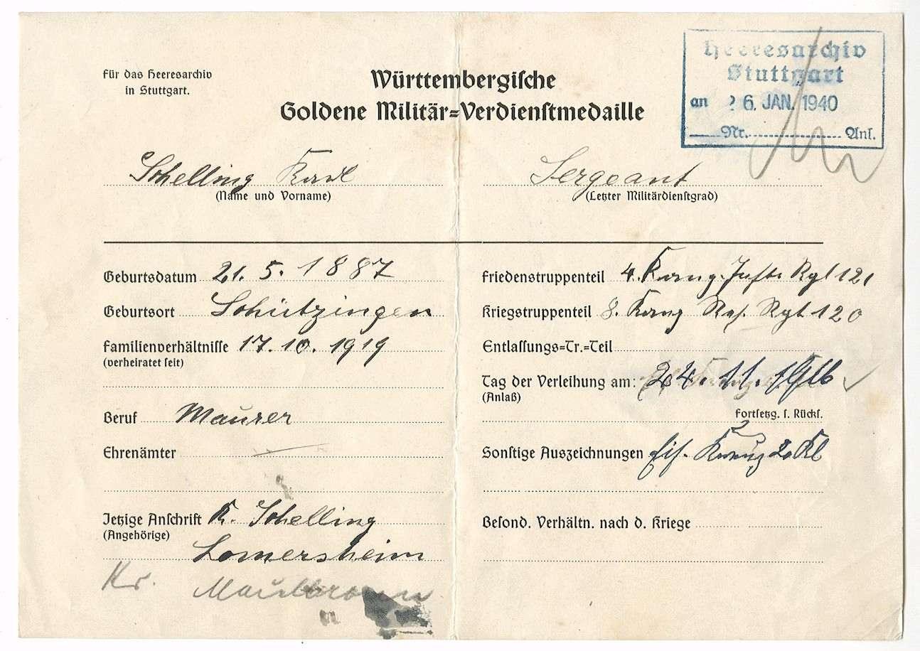 Schelling, Karl, Bild 3