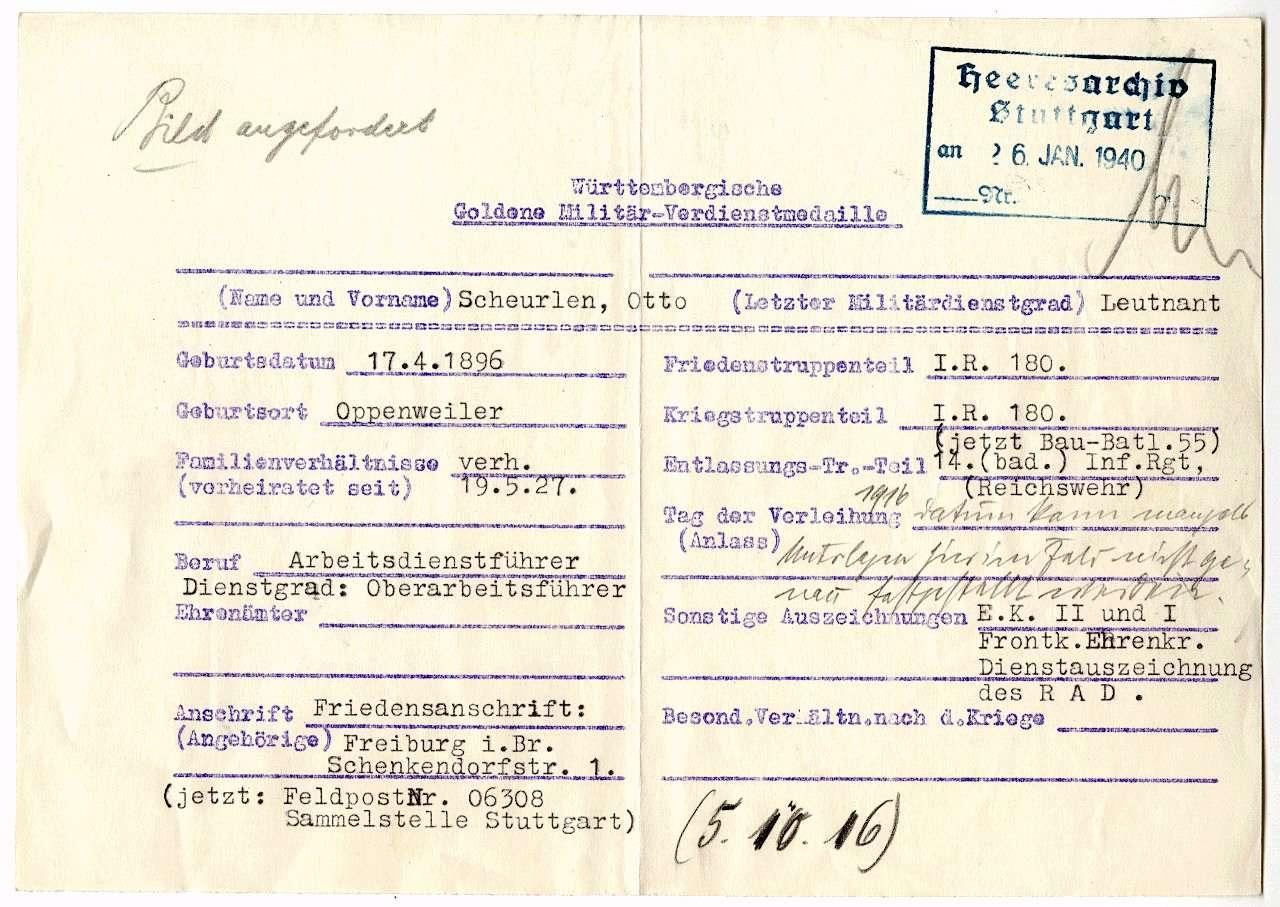 Scheurlen, Otto, Bild 2
