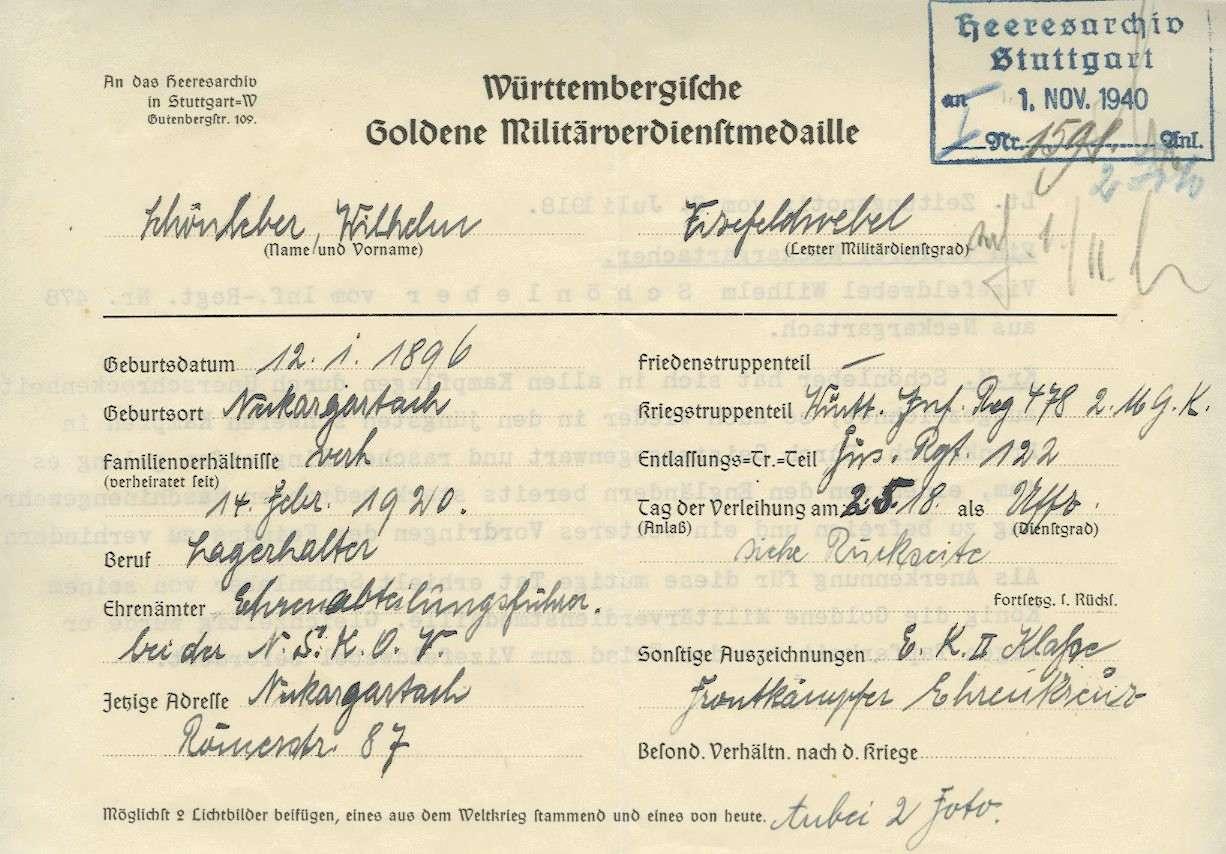 Schönleber, Wilhelm, Bild 3