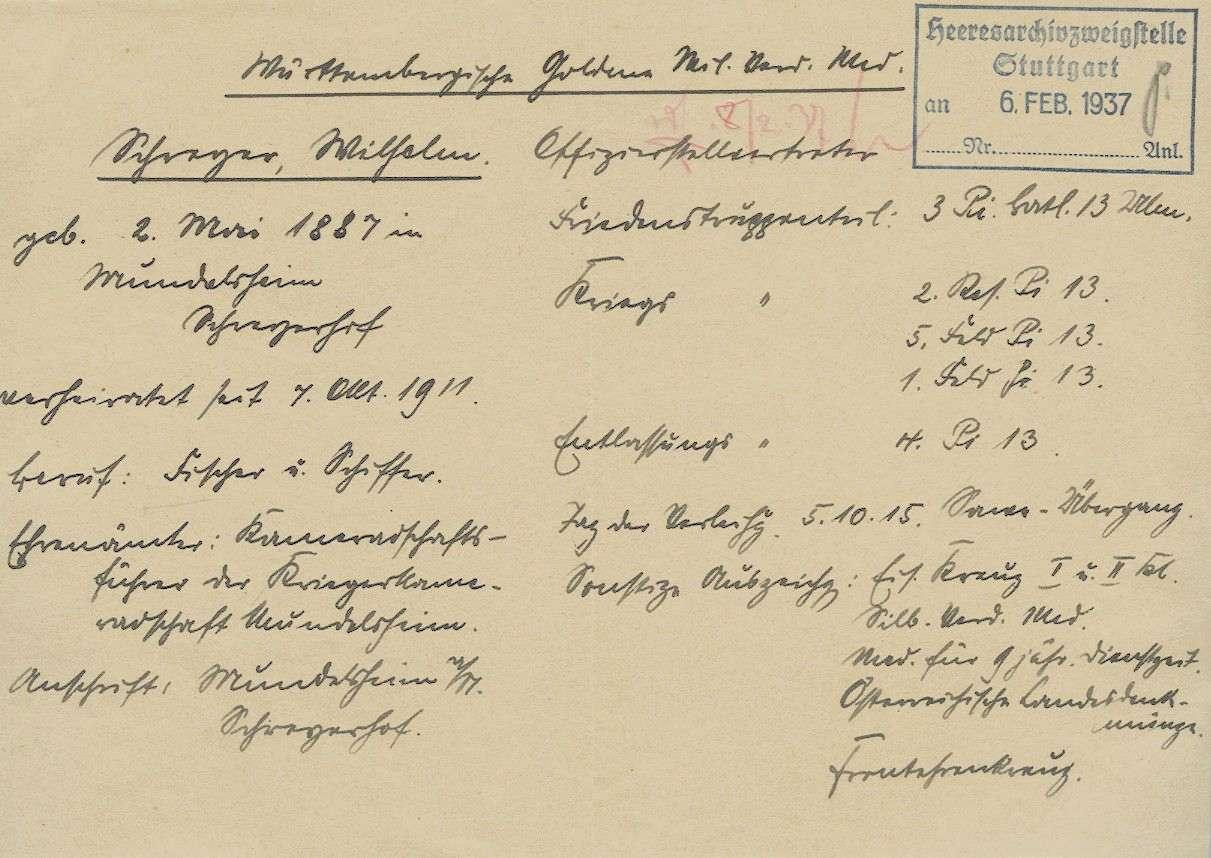 Schreyer, Wilhelm, Bild 2