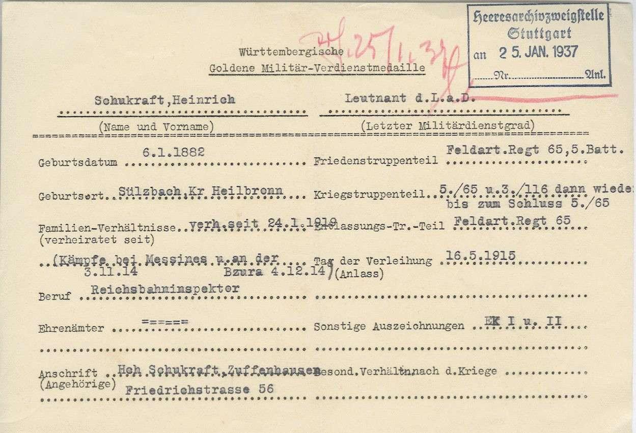 Schukraft, Heinrich, Bild 2