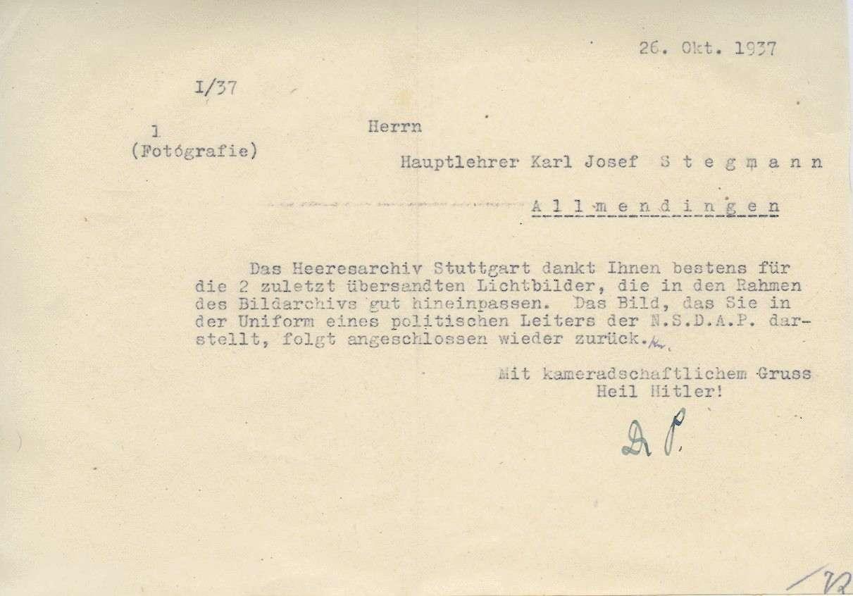 Stegmann, Karl Josef, Bild 3