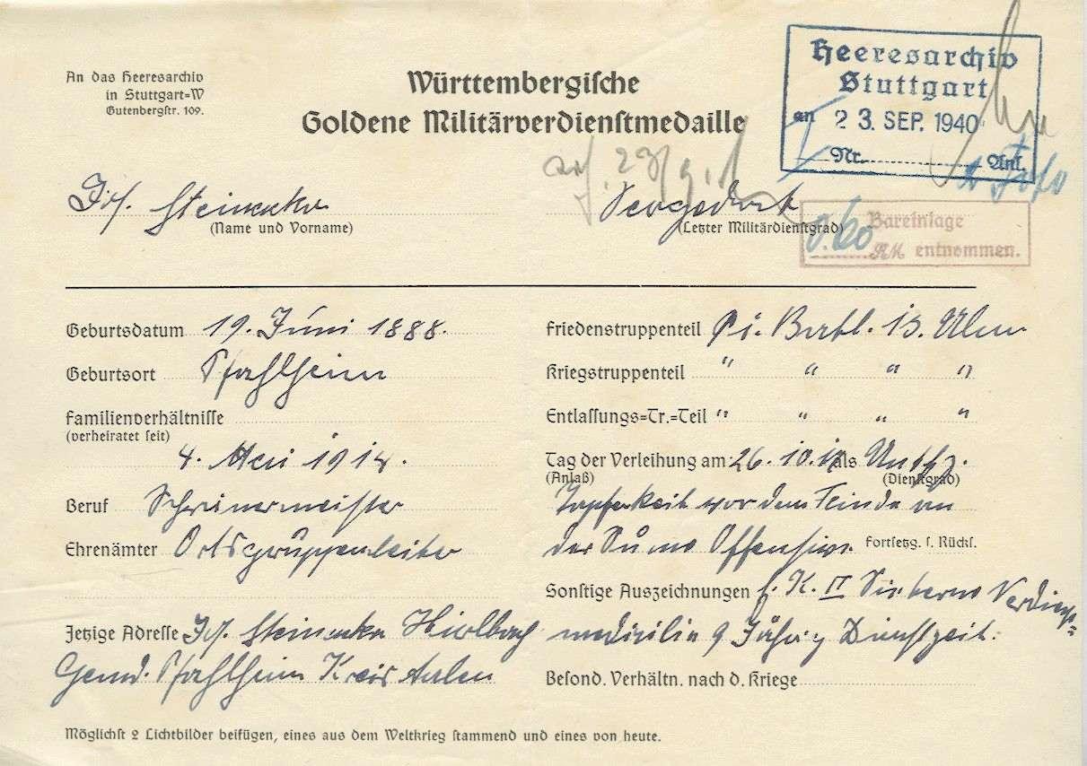 Steinacker, Josef, Bild 3